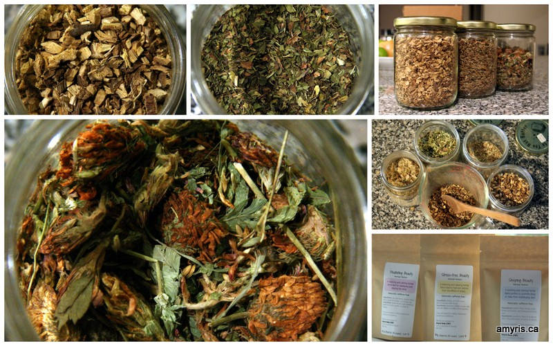 Herbal potions to practice yoga of herbs